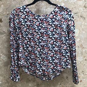Forever21 floral blouse